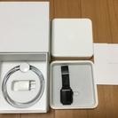 Apple Watch 38mm スペースブラック ステンレススチール