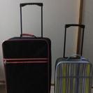 中古!ソフトタイプ スーツケース 大小セット
