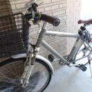 ロードバイク  SUITTO 変速・バスケット・チェーンロック付き