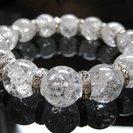 天然石パワーストーン【水晶数珠&クリスタル】ブレスレット