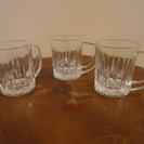 グラス ジョッキ 3個セット 直径8㎝×高さ10㎝