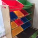 おもちゃ収納棚