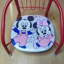 取引中。ミッキー&ミニー 豆椅子