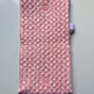 防災頭巾兼座布団 神戸市立幼稚園入園準備品サイズ ピンク地に象柄