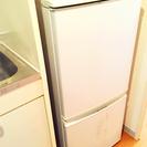 2010年 137L SHARP 2ドア冷蔵庫 板橋区