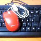 USBマウス+USBキーボードのセット