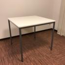 正方形ダイニングテーブル ホワイト