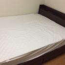 ダブルサイズベッド及びマットレス