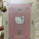 キティーのクリスマスカード、ポスト...
