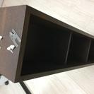 【無印良品】壁に付けられる家具・箱・幅88cm・タモ材/ブラウン ...