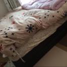 シングルベッド フレームとマットレス