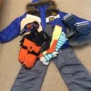 男児130スキー関連10点セット