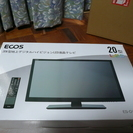 ECOS 20インチ地デジLED液晶テレビ 1週間視聴 極美品