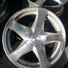 ロクサーニ ホイール4本セット、タイヤつき 中古