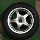 スタッドレスタイヤ プリウス、ウィッシュ用 4本セット
