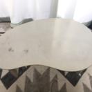 折りたたみセンターテーブル ホワイト