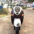 非常に良いエンジン。ヤマハ、Vino水冷バイク。