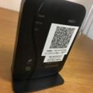 NEC無線ルーター(型番PA-WG300HP)
