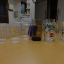未使用品多数コップとグラス