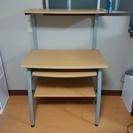 作業机(パソコンデスク、キッチン収納としても使えます)