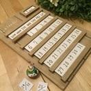万年 カレンダー 木製 カントリー