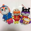 アンパンマン☆ぬいぐるみ3点セット