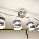 4灯シーリングライト(LED電球付き)