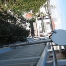 BS/CSパラボラアンテナ-格子フェンス用支柱 中古