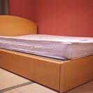 ダブルベッド 引き出し2つ付/高級ベッドになります(*^_^*)