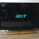 2009年製、acer 24インチ フルハイビジョン液晶 モニター...