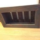 新品 インテリア小物   木目調の棚
