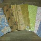 ラッピングぺーパー7種類セット☆包装紙