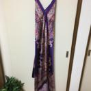 スカーフで出来ているドレス 新品