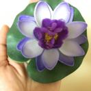 蓮の華 造花 4個セット