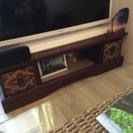 バリ家具 木彫りのテレビボード
