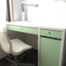 勉強机 IKEA ミッケ 椅子付き