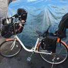 自転車【前チャイルドシート付き】