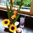 チョコカフェでいけばな - 渋谷区