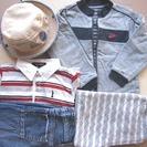 男の子 春5点セット ナイキ他 95-100サイズ 帽子付