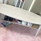 棚つきローテーブル