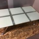 LC010620 タイル調ガラステーブル