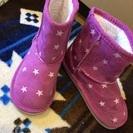 星柄ブーツ19cm