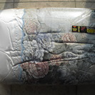 【未使用寝具】抗菌防臭加工わた使用 掛布団