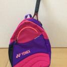 子供用のテニスバック+ラケット