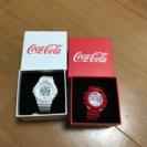 コカコーラ 腕時計