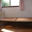 姫系 シングルベッド (ネジが1本欠損)