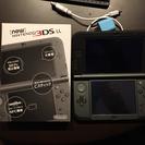 【美品】new 3DSLL本体、シリコンカバー、充電器セット