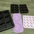 お菓子作り☆シリコーン型5個セット☆