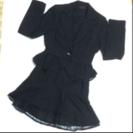 卒園・卒業・入学式に…上品で可愛い❤︎黒ラメ系スカートスーツ7AR