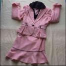 卒園・卒業・入学式に…上品で可愛い❤︎ピンク系スカートスーツ7AR